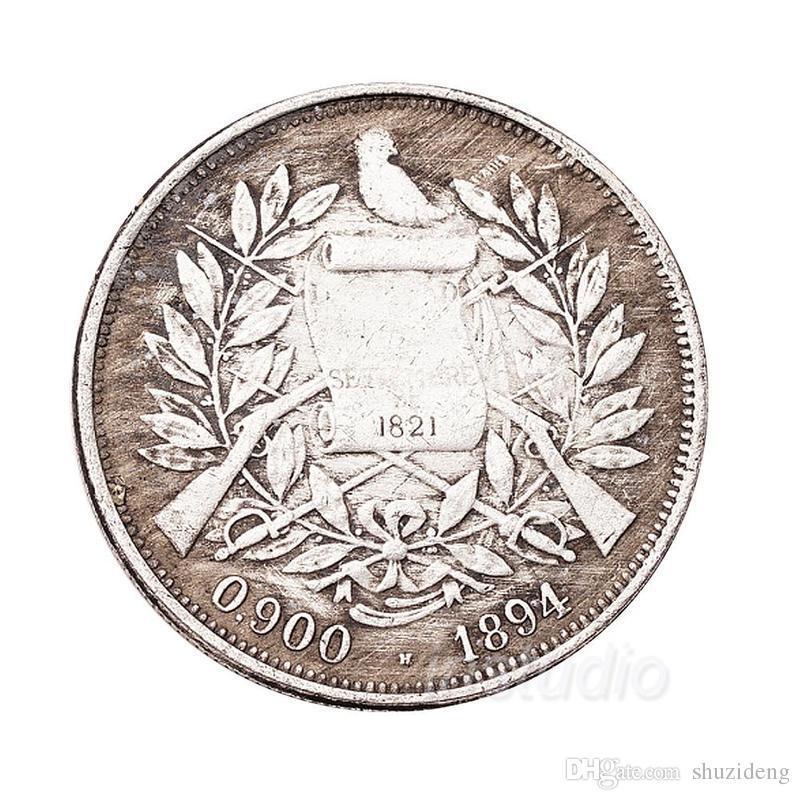 The Republic Of Mara 1894 Antique Coins Commemorative Coins Retro Coin  Souvenir Dollars Coin Collection Silver Coins Online with  7.23 Piece on  Shuzideng s ... a62ff7fbba26