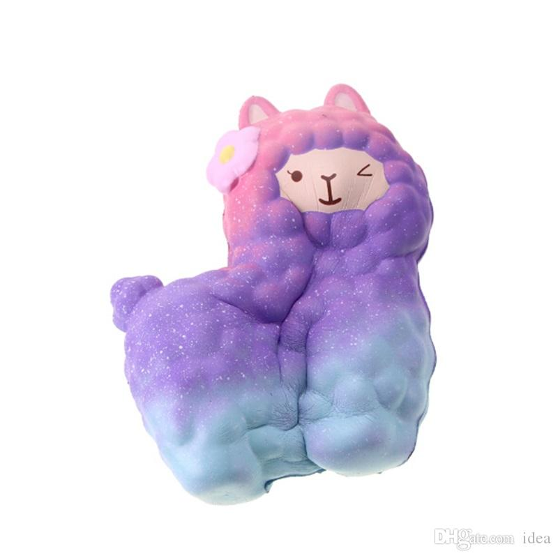 Squishy Hot Alpaca 18cm Slow Rising Original Packaging Collection Gift Decor Toy Phone Straps Decompress Toy 2018 New