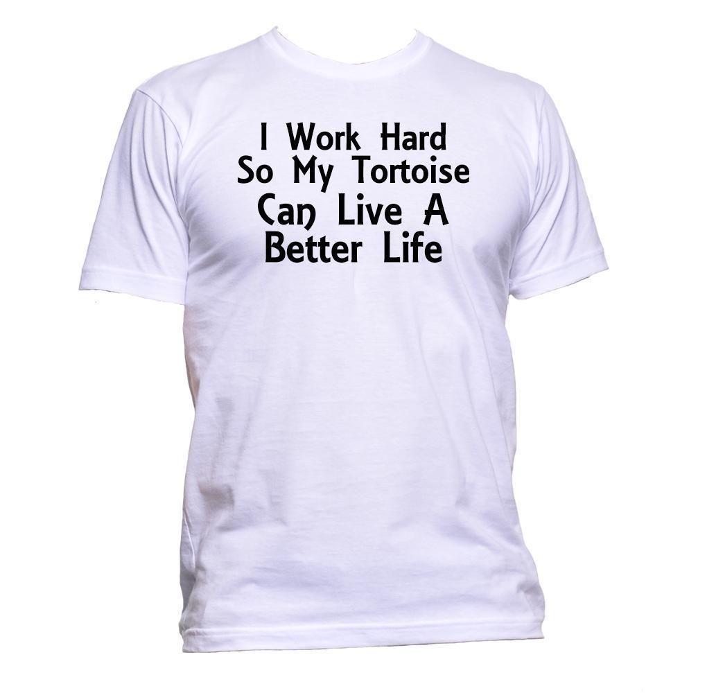 a4c8e96e1fb Compre Trabajo Duro Para Que Mi Tortuga Pueda Vivir Una Vida Mejor Camiseta  Para Hombre Unisex Fun A $11.37 Del Yuxin010 | DHgate.Com