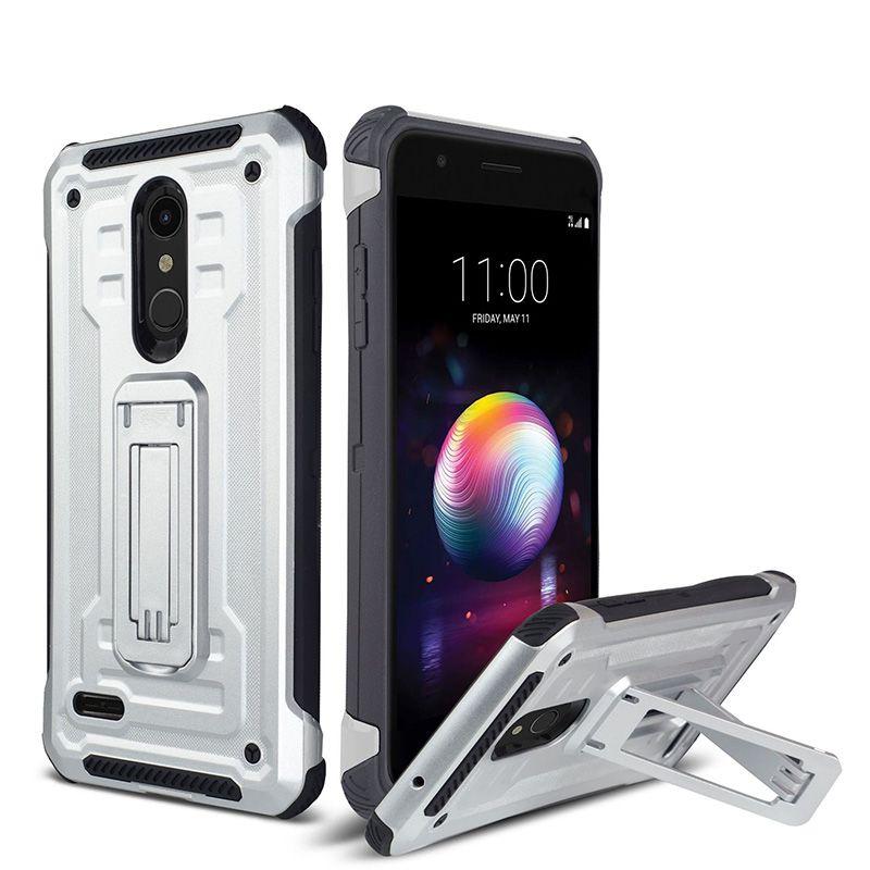 For LG Aristo 2 Stylo 4 Stylo 3 K10 2018 Iphone XS XR XS MAX Hybrid Armor  Vantage Dual Kickstand Phone case