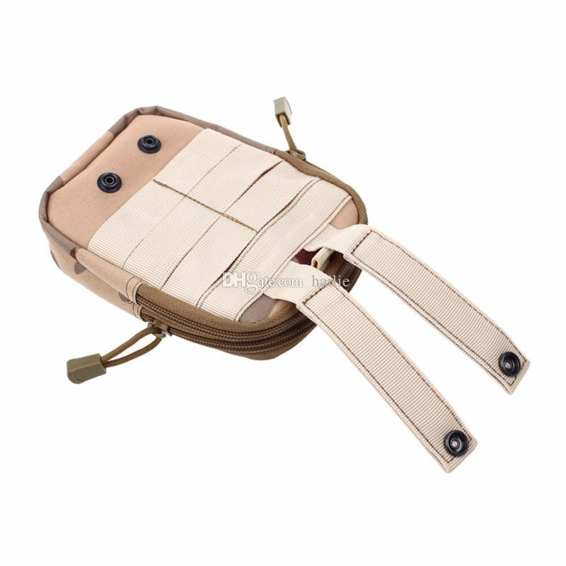 Wallet Pouch Purse Phone Case Outdoor Tactical Holster Military Molle Hip Waist Belt Bag with Zipper for iPhone/Samsung/LG/SONY