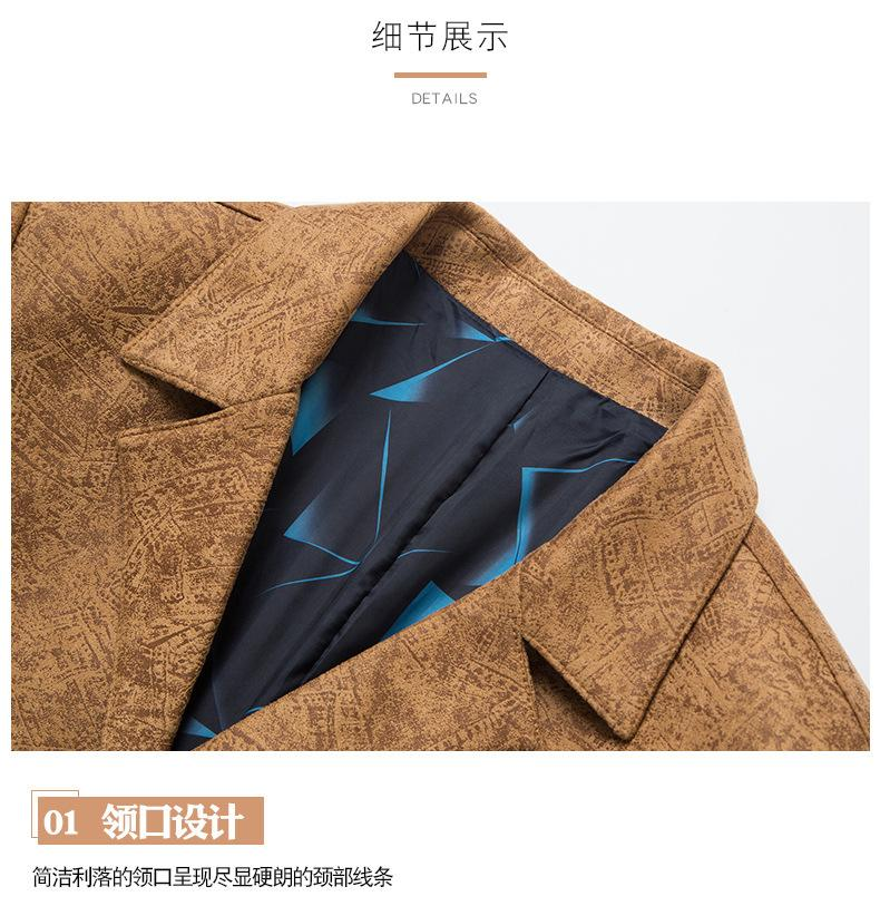 Luxur Spring overcoat High quality Men Casual Male Classic trench coat Men's Fashion Slim Fit coats business windbreaker jackets