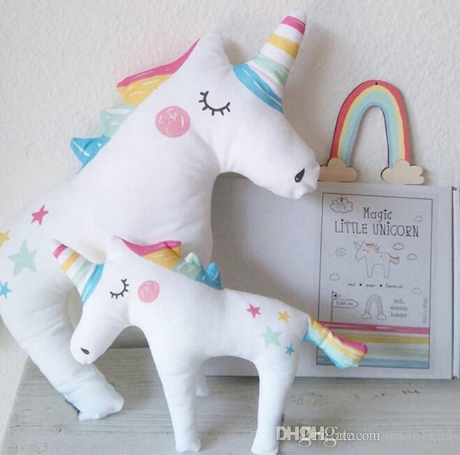 2019 Unicorn New Arrivals Baby Kids Stuffed Animals Plush Toys