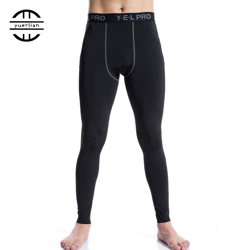 f4872cfa6e3 Yuerlian Elastic Quick Dry Trousers Men Compression Tights ...