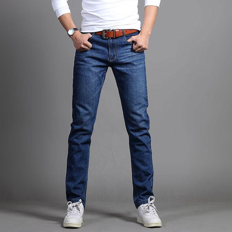 38d5cd6e2d4f5 Satın Al Yeni 2018 Marka Erkekler Kot Pantolon Koyu Yıkama Kot Rahat  Erkekler Için Ince Homme Bıyık Etkisi Ripped Denim Erkek, $26.47 |  DHgate.Com'da