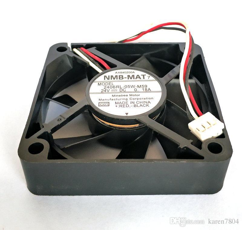 Orijinal NMB 2406GL-04W-B49 12 V 0.22A 60 * 60 * 15 MM soğutma fanı 2406RL-05W-M59 2406GL-05W-B59