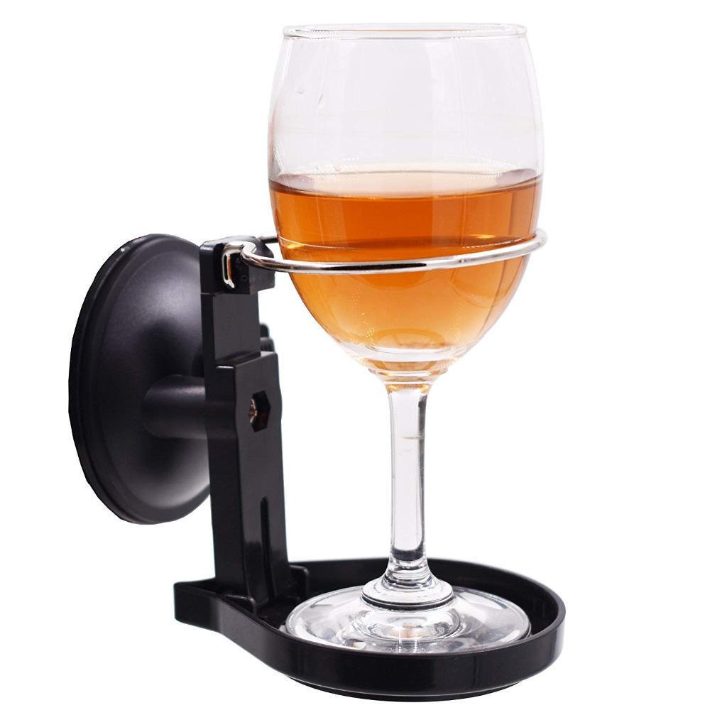Shower Wine Holder or Bathroom Beer Holder