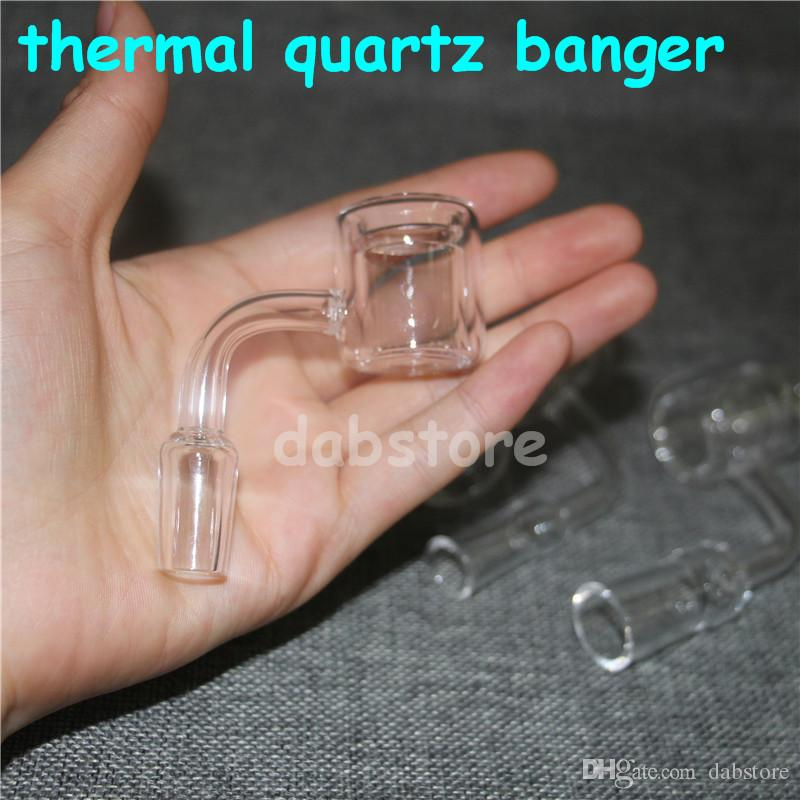 Termal kuvars tırnak yüksek kalite termal kuvars banger çivi yeni model 90 derece 10mm 14mm 18mm erkek kadın için cam bong