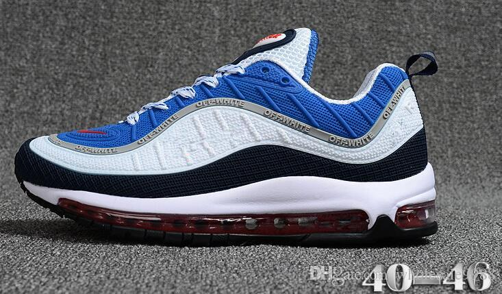 2018 hot sale New Casual Shoes Airs Cushion 98 KPU Plastic Cheap Training Shoes Fashion Wholesale Outdoor Running Shoes Sneakers