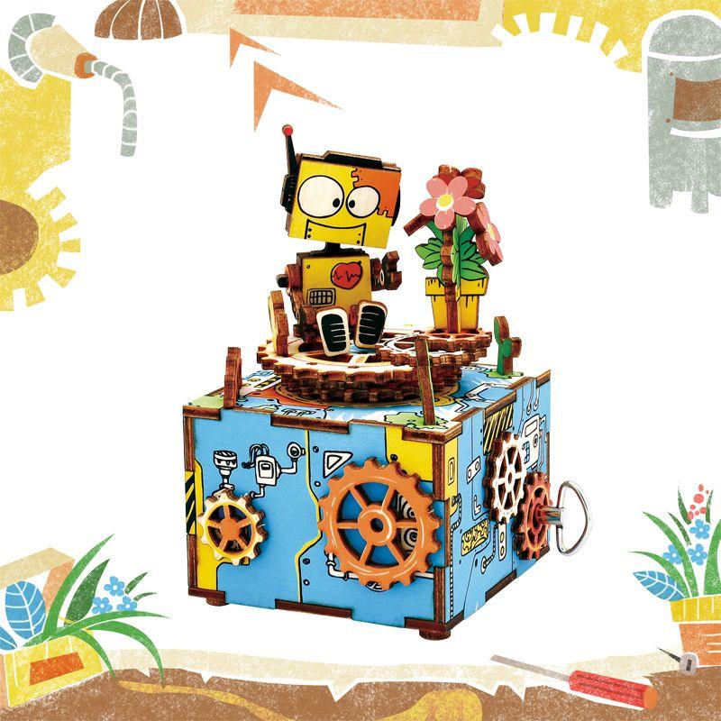 Compre Diy 3d Casa De Munecas Rompecabezas De Dibujos Animados