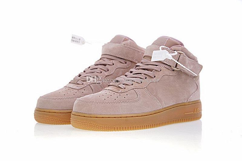 Alta Qualidade Classics Anti Fur Camurça Homens Mulheres Running Shoes para 1 Um Skateboarding Sapatos Homens Sapatos Sapatilhas