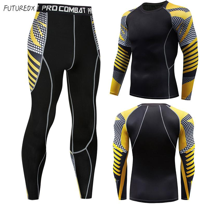 2019 Men S Winter Sun Protection Compression Clothing 3D Printing Youth MMA  Clothing Crossfit Thermal Underwear Men S Fitness Suit From Maluokui 8c53e45fc253