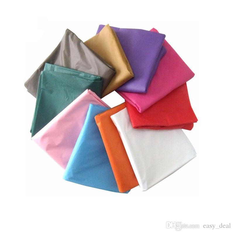 Manteles multicolores impermeables de plástico Manteles de mesa a prueba de aceite Fiesta de mesa de catering Eventos 137 * 274cm Envío gratis ZA6201