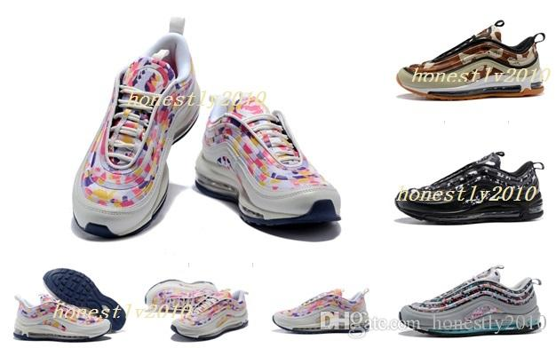 8c28ec842354a 2018 Cushion 97 Air Vapormax 97 Running Shoes Men Casual Women Air ...
