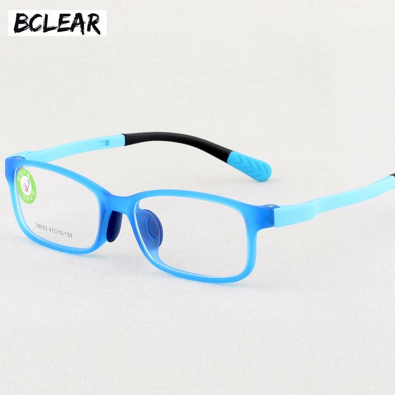 263cc8cf84d6 BCLEAR Fashion New Color Cartoon Optical Silicone TR Children s ...