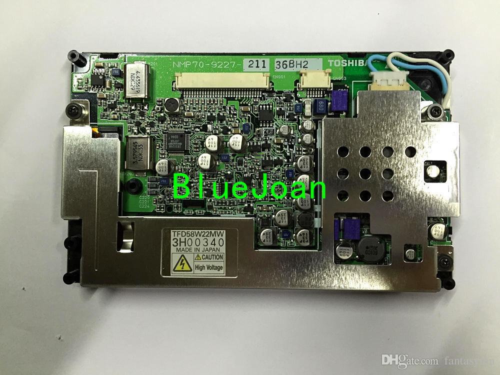 Оригинал 5.8inch Дисплей TFD58W22MW TFD58W23MW TFD58W26MW LCD монитор с сенсорным экраном для автомобиля CD навигации GPS аудио радио