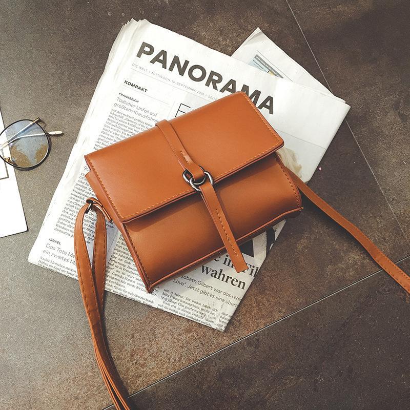 2019 Fashion Miyahouse Korean Style Women Simple Mini Shoulder Bags Candy Color  Female Small Crossbody Bag Portable Messenger Bag For Girls Designer Purses  ... 65f442ea487a2