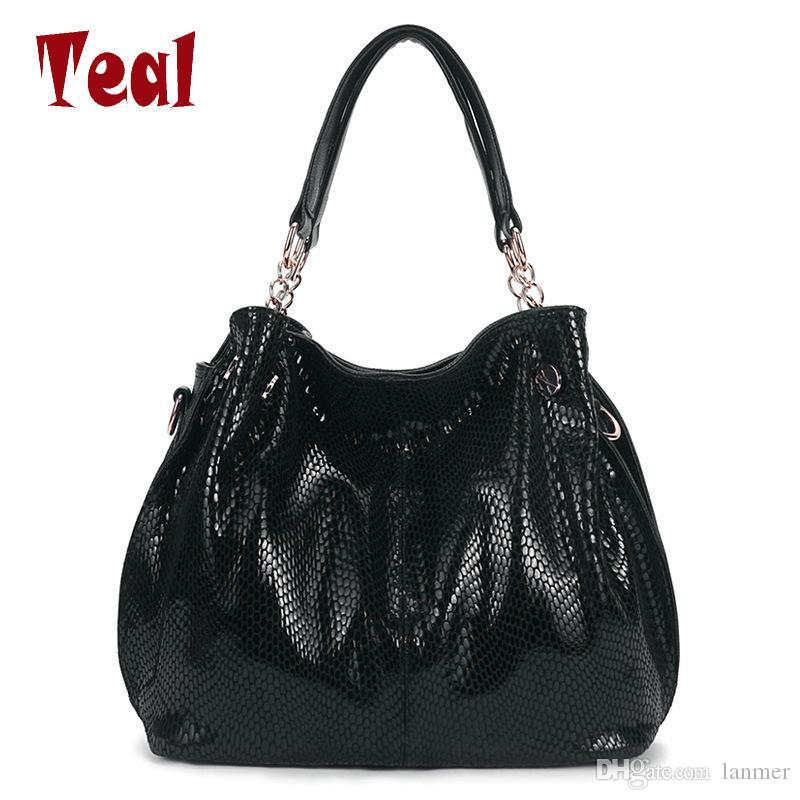 Wholesale- Women s Handbag with Handles Bag Ladies Shoulder Luxury ... 264330f6c9a16