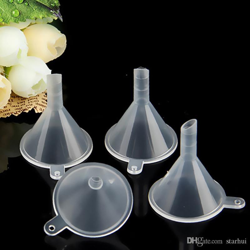 Мини-маленькие воронки жидкость Transparen духи жидкость эфирное масло заполнение пустая бутылка упаковка кухня бар обеденный инструмент WX9-328