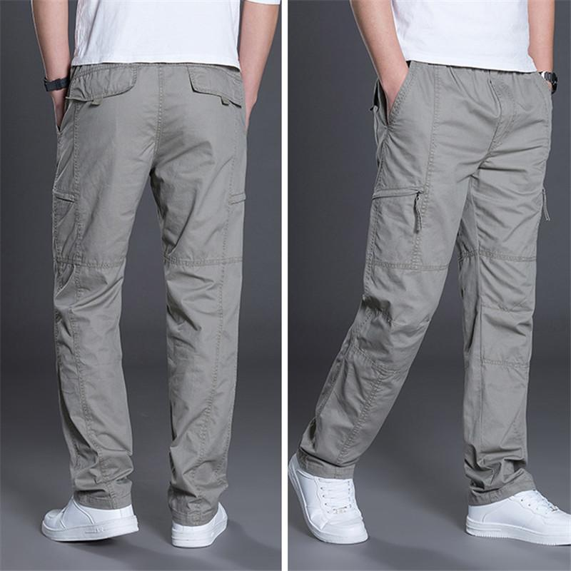 765c444589a 2019 High Quality Summer Lightweight Men Cargo Pants Baggy Army Green Pant  Workman Loose Casual Trousers Plus Size XXXL 4XL 5XL 6XL From Baldwing
