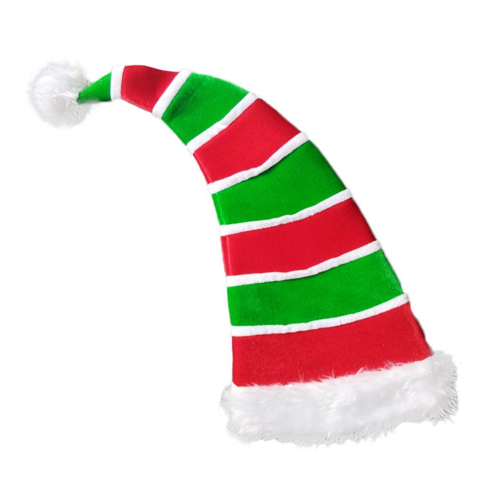 Acquista Pagliaccio Elf Cappello Di Natale A Strisce Decorativo Peluche Pom  Pom Cappello Bomboniere Costume Accessorio Foto Puntelli Copricapo A  16.66  Dal ... 8a044f5c2768