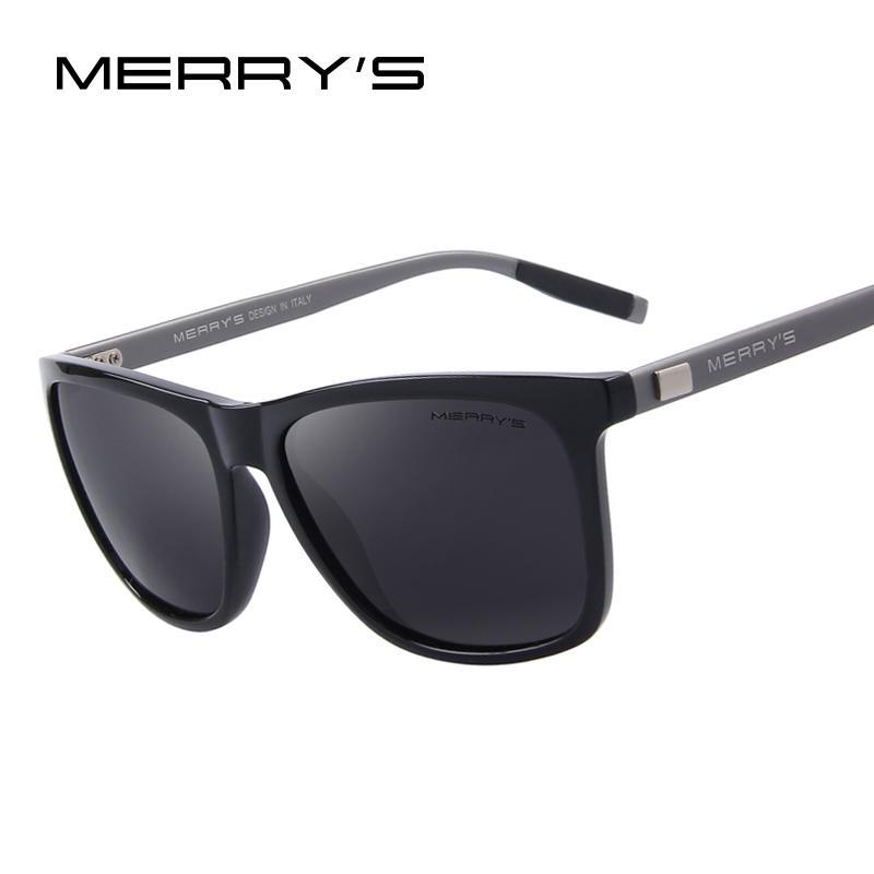 6d7336948e MERRY S Unisex Retro Aluminum Sunglasses Polarized Lens Vintage Sun Glasses  For Men Women S 8286 Cat Eye Sunglasses Round Sunglasses From Wdrf