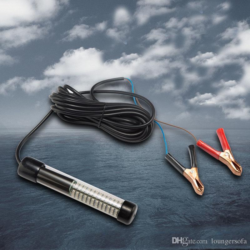 12 V Cor Verde Levou Luz Lure Submersíveis Peixes Underwater Lula Equipamentos De Pesca Para Halieutics Helper Enfrentar Necessário 50ts ZZ