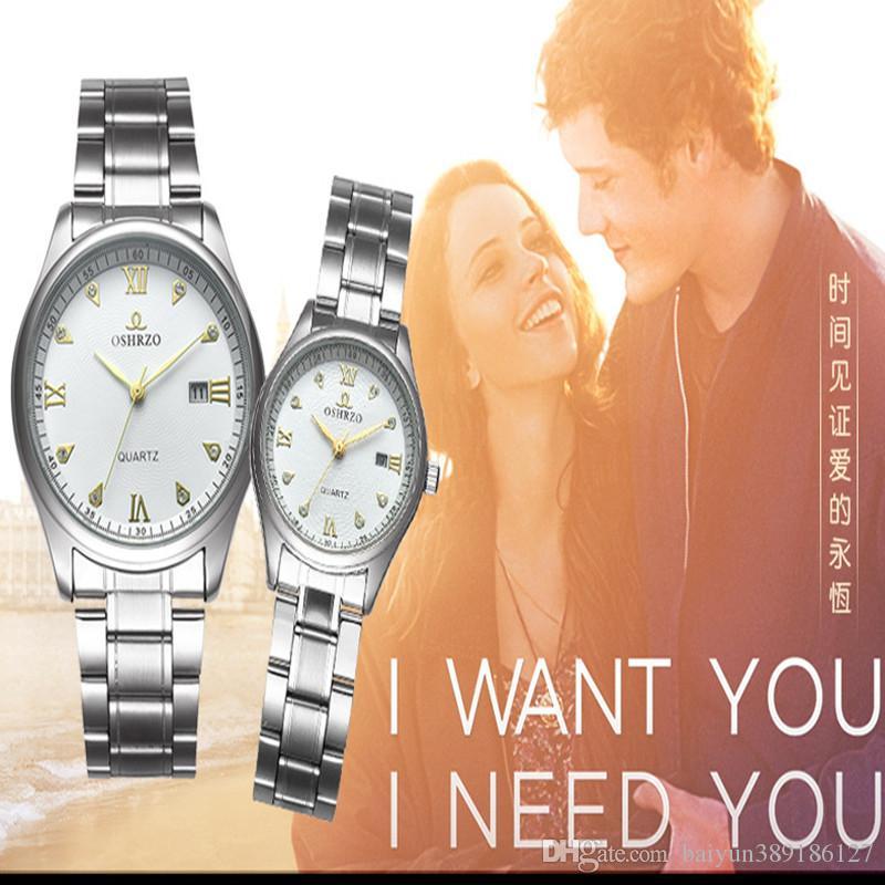 Vendita calda nuovo Orologio di lusso Autentico orologio di marca Orologio di diamanti Uomini e donne Fashion Lovers Designer orologi orologi al quarzo impermeabili