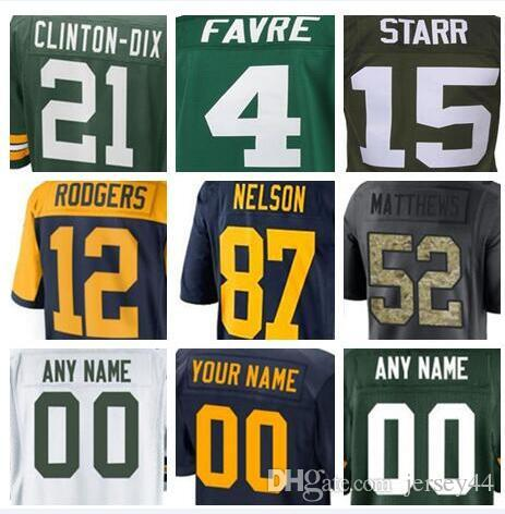 e773e0c0a Green Bay American Football Jerseys Anthracite Green Olive Salute to ...