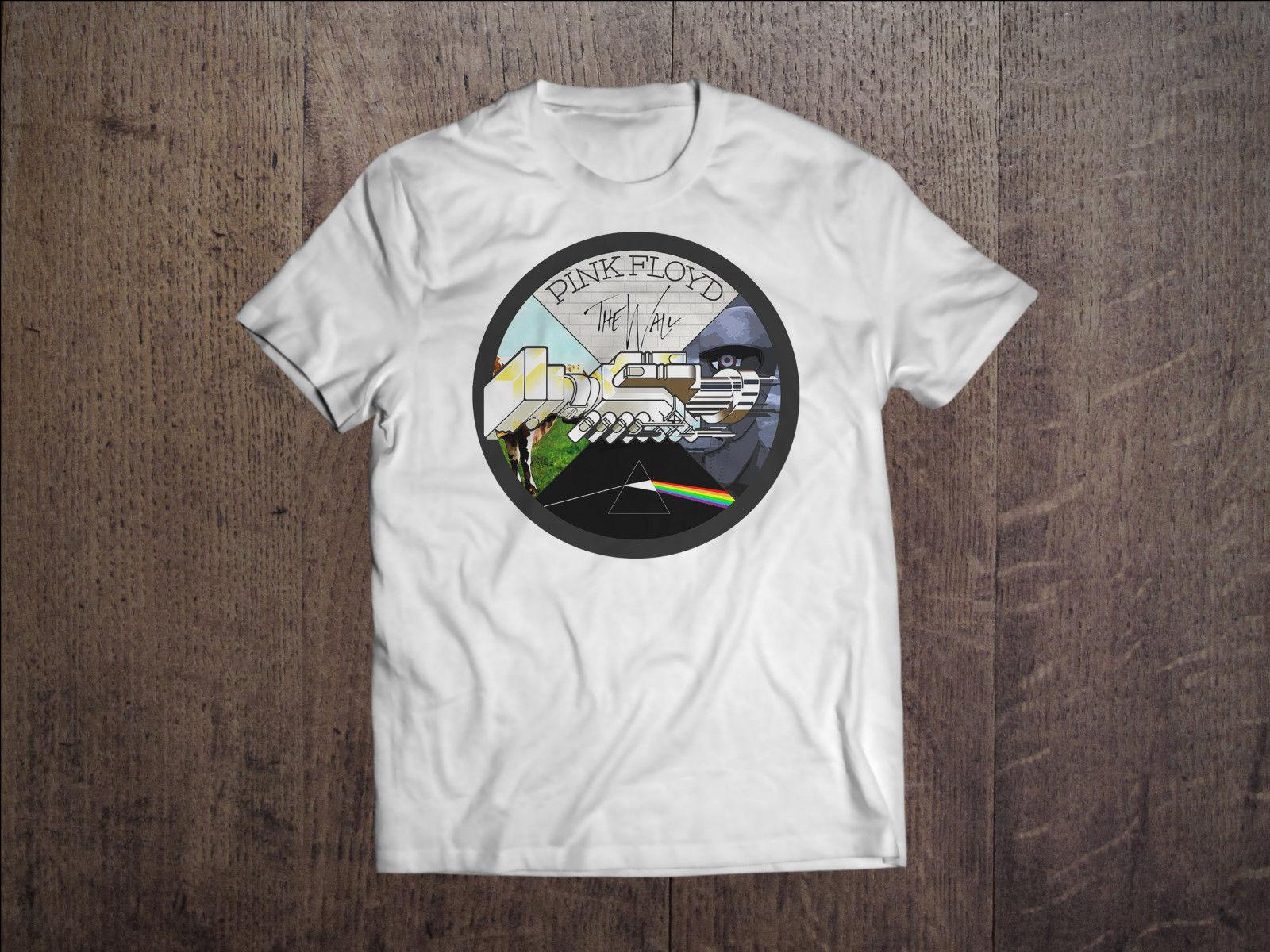 1e78fd111459 Pink Floyd Men White T Shirt Rock Band The Wall Fan Tee Shirt Sizes S M L  XL XXL Sports T Shirts Men T Shirts From Beidhgate08