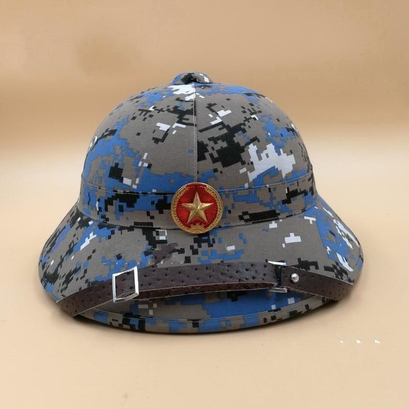 74f7b6a66f1 2019 VIETNAM WAR HAT NVA VIETCONG VC PITH HELMET JUNGLE EXPLORER CAP Marpat  Colour WITH BADGE World Store From Suipao
