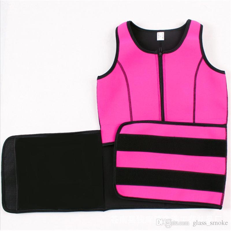 Vita cincher Sweat Gilet Trainer Tummy Girle Control Corset Body Shaper donna Plus Size S M L XL XXL 3XL
