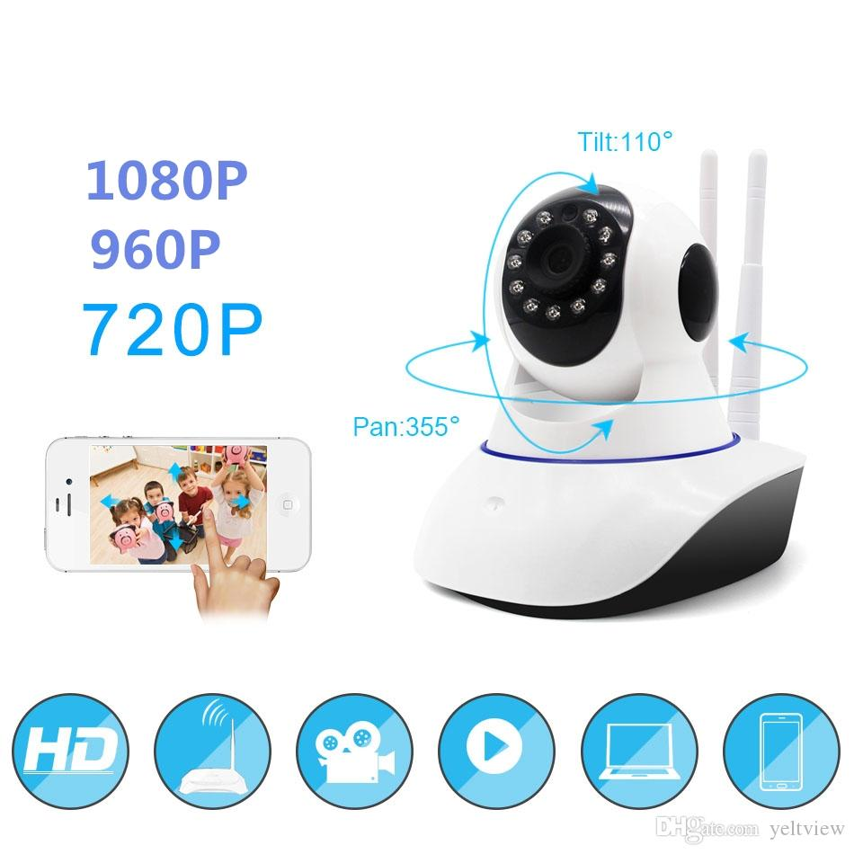 720P/960P/1080P Security camera Home security camera system wireless  Network Surveillance Wifi Night Vision IP CCTV Camera indoor Monitor