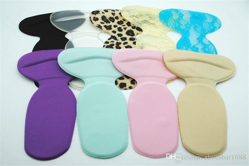 Sottopiede scarpe T-Shape Silicone Antiscivolo Cuscino Piede Protector Liner Sottopiede Scarpe Pads 2018 Nuovo EH048