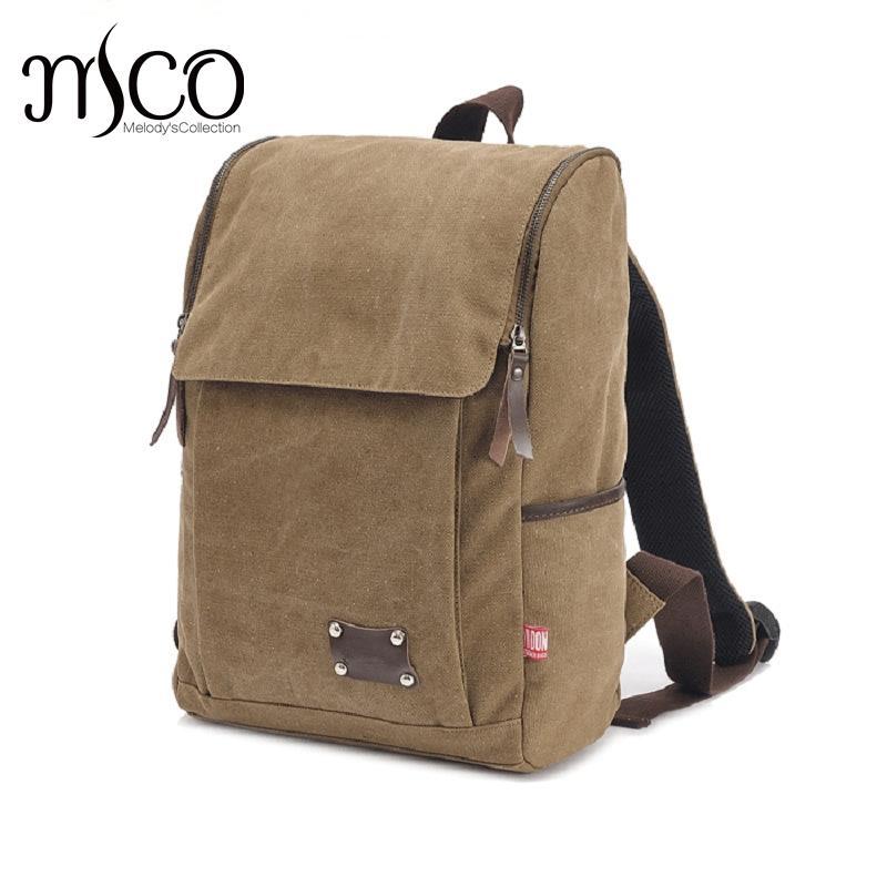 Men s Canvas Backpack Male School Luggage Shoulder Bag Computer Backpack  Functional Versatile Bag Large Capacity Travel Bags Swiss Backpack Laptop  Rucksack ... 773540f8f9852
