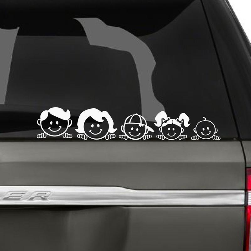 2018 peeping family car decal art painting car stickers vinyl decor decals rear window car sticker from xymy797 5 53 dhgate com