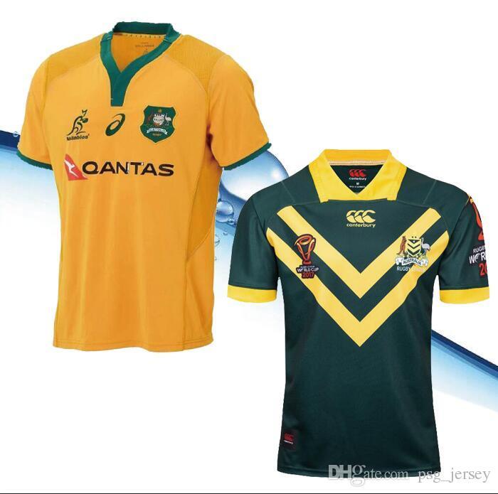 d37df8d8266ed Compre Nueva Camiseta Australia Rugby Jersey 2017 2018 2019 Season ...