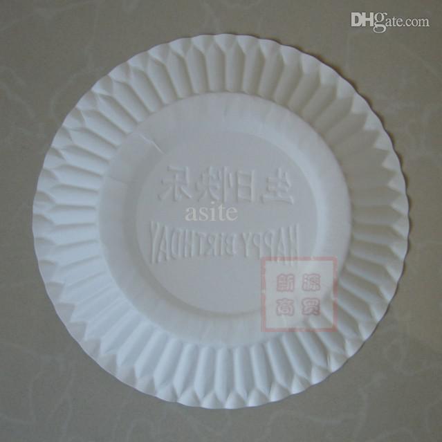 Wholesale 135cm Cake Plate Disposable Paper Plate Disposable Plates