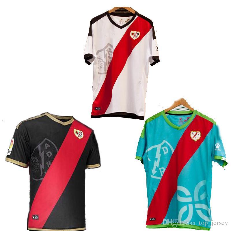 96dbf2a6b Nueva Camiseta Del Rayo Vallecano 2018 En Casa Alex Moreno Camisetas De  Fútbol 18 19 TOMAS F. BELTRAN Rayo Tailandés Quaity Vallecano 3RD Camisetas  De ...