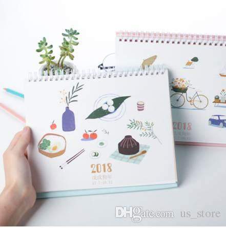 2018 2018 daily life series table calendars creative decoration desk planner calendar 20177201812 from us_store 1508 dhgatecom