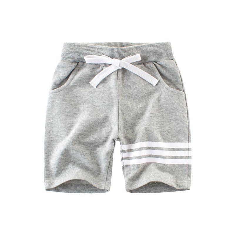 c76b03658f1eb Acheter 2018 Mode Enfants Garçons Shorts Occasionnels Coton Respirant Enfants  Genou Longueur Été Court Pantalon Demi Pantalon Homewear 2 10 T De $15.07  Du ...