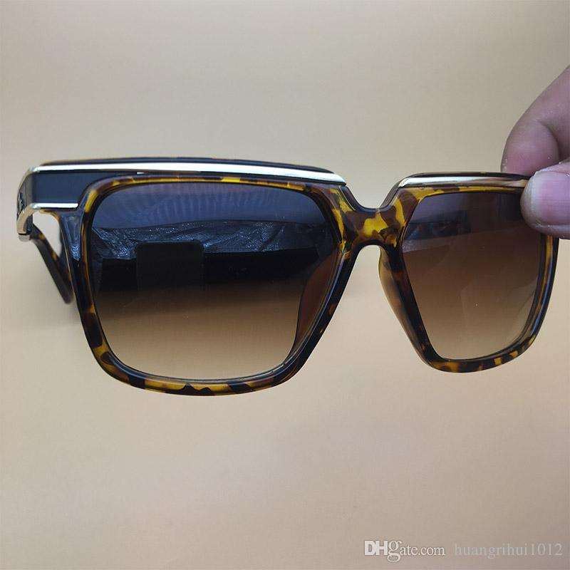 Großhandel Acetat Sonnenbrille Leopard Katze Auge Rahmen Mens Womens ...