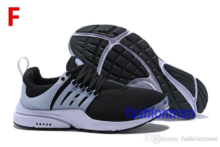 2018 TOP PRESTO 5 BR QS Breathe Black White Yellow Red Mens Shoes Sneakers Women Running Shoes Hot Men Sports Shoe Walking designer shoes