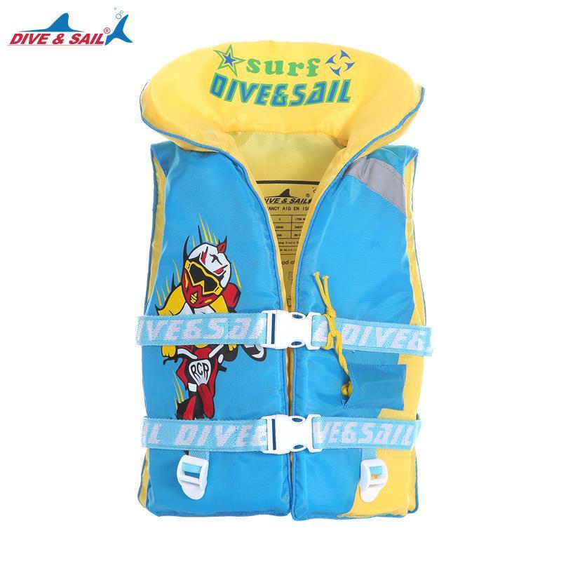 DIVE SAIL Child Life Vest Jacket Boys Girls 210D Cloth+High Buoyancy ... 0d034133f