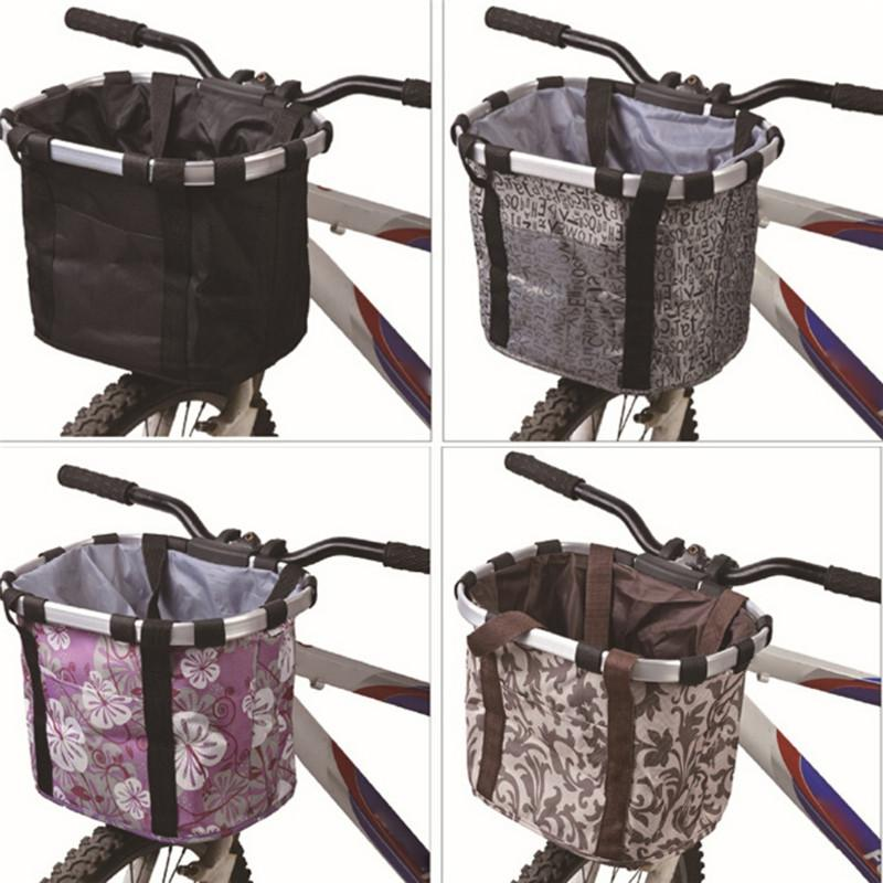 Bike Bag Bicycle Basket Bicycle Knapsack Aluminum Alloy Frame ...