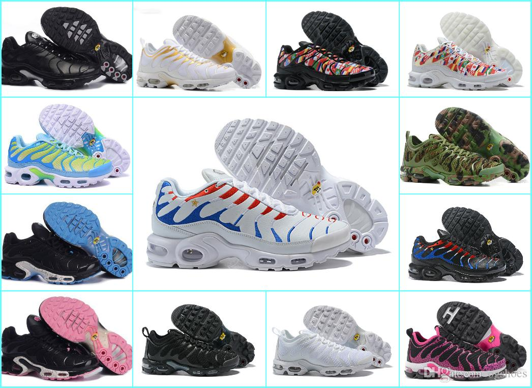 New Design 2018 Chaussures Tn Women RunninG Shoes Tn Plus UlTRA Breathable  Basket Tn Requin Femme Noir Jogging Trainers Sports 270 Sneakers Tn Shoes Tn  ... a9db6fdca