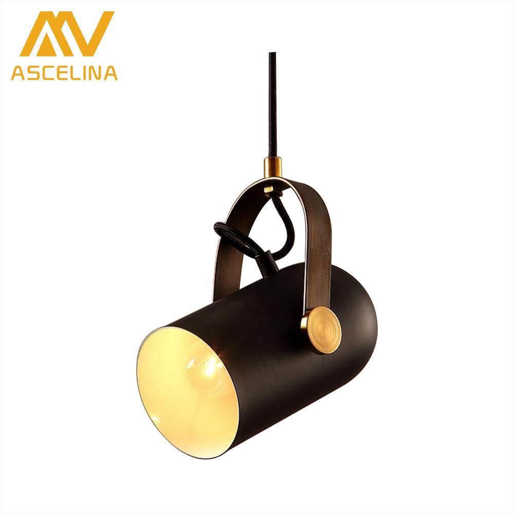 Compre Ascelina Loft Lampara Colgante Lampara Vintage Industrial