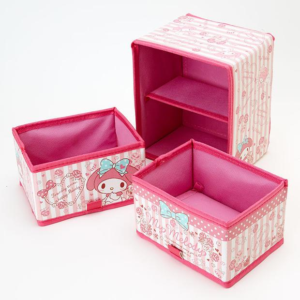 4e15a5d26 Jewelry Box Melody Hello Kitty Cartoon Double First Jewelry Box Of Hair  Accessories Train Cases Cosmetics Case From Cedricl, $31.22| DHgate.Com