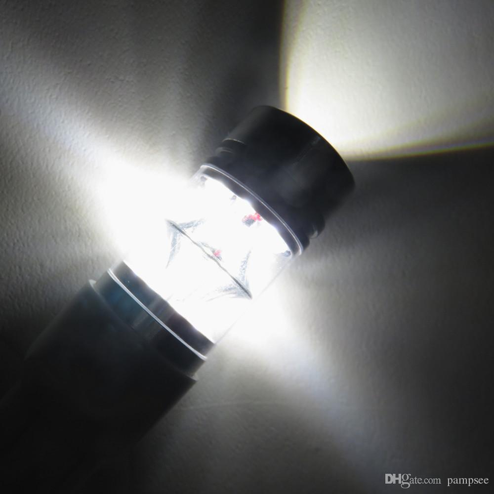 2 Pz Super Bright 100 W 1156/1157 BA15S Nessun Errore Car Styling LED Backup Retromarcia Freno Stop Lampadina Fendinebbia Segnale di Girata