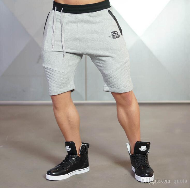 d6a8e14558 Male Gym Sports Shorts Musle Men Wear Cool Pant With Print Size M ...